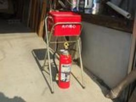 灰皿・消火器の写真