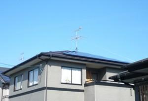 太陽光発電設置完成2