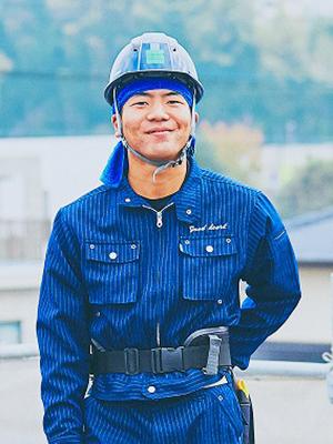 太陽光発電事業部 屋根工事 茨木 佑太(いばらき ゆうた)