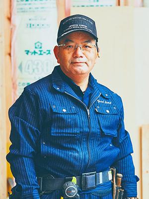 新築事業部 大工棟梁 瀧下 龍生(たきした たつお)