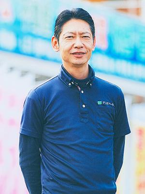 太陽光発電事業部部長 冨田 修(とみた おさむ)