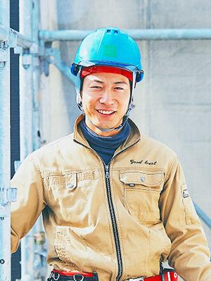 新築事業部 足場工事 津地 剛志(つじ たけし)