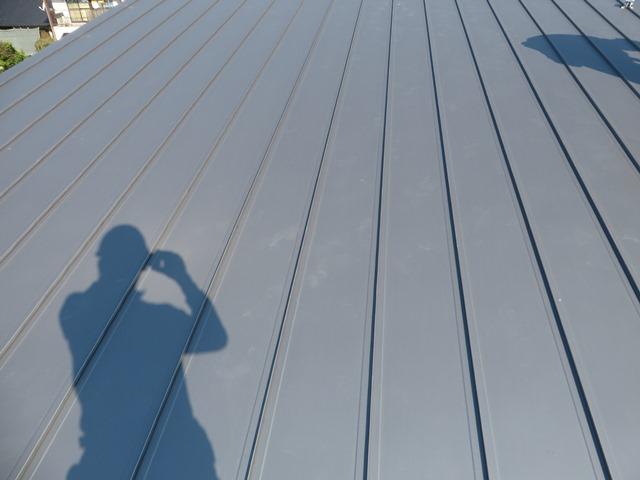 ガルバリウム鋼板 施工前