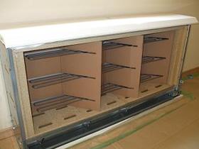 蓄熱暖房器の内部