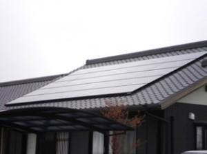 太陽光パネル設置完成2