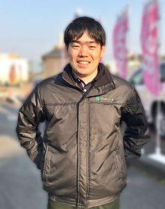 太陽光発電事業部 営業 酒井 駿(さかい しゅん)