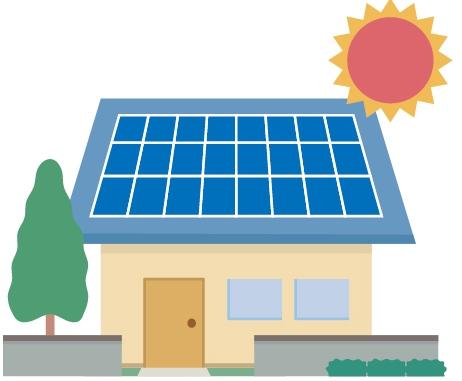 太陽光パネルイメージ図