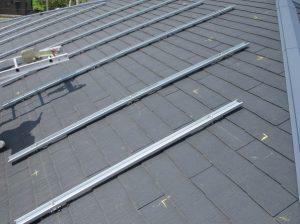 太陽光発電設置アンカー